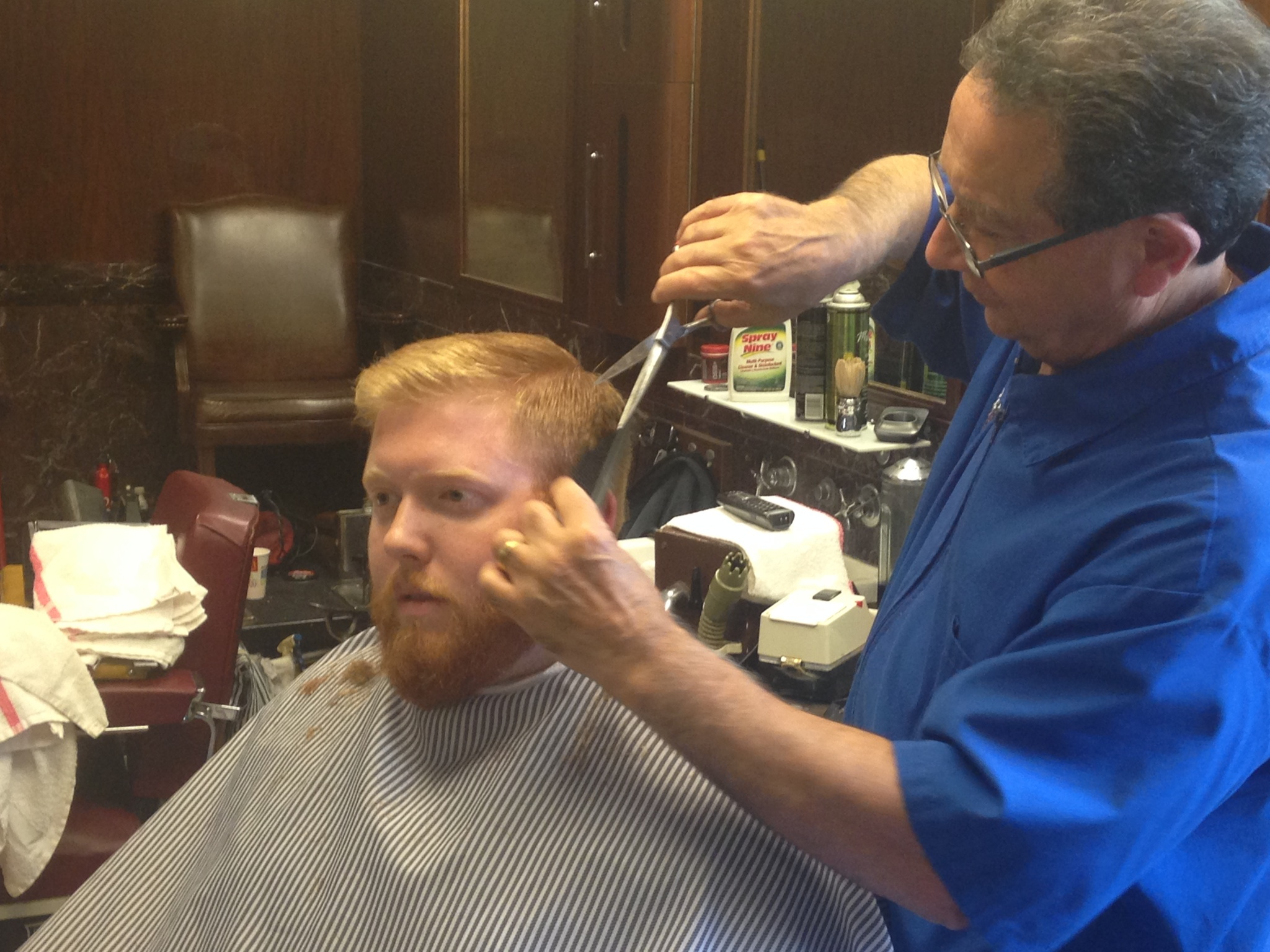 The Civic Opera Barber Shop Chicago
